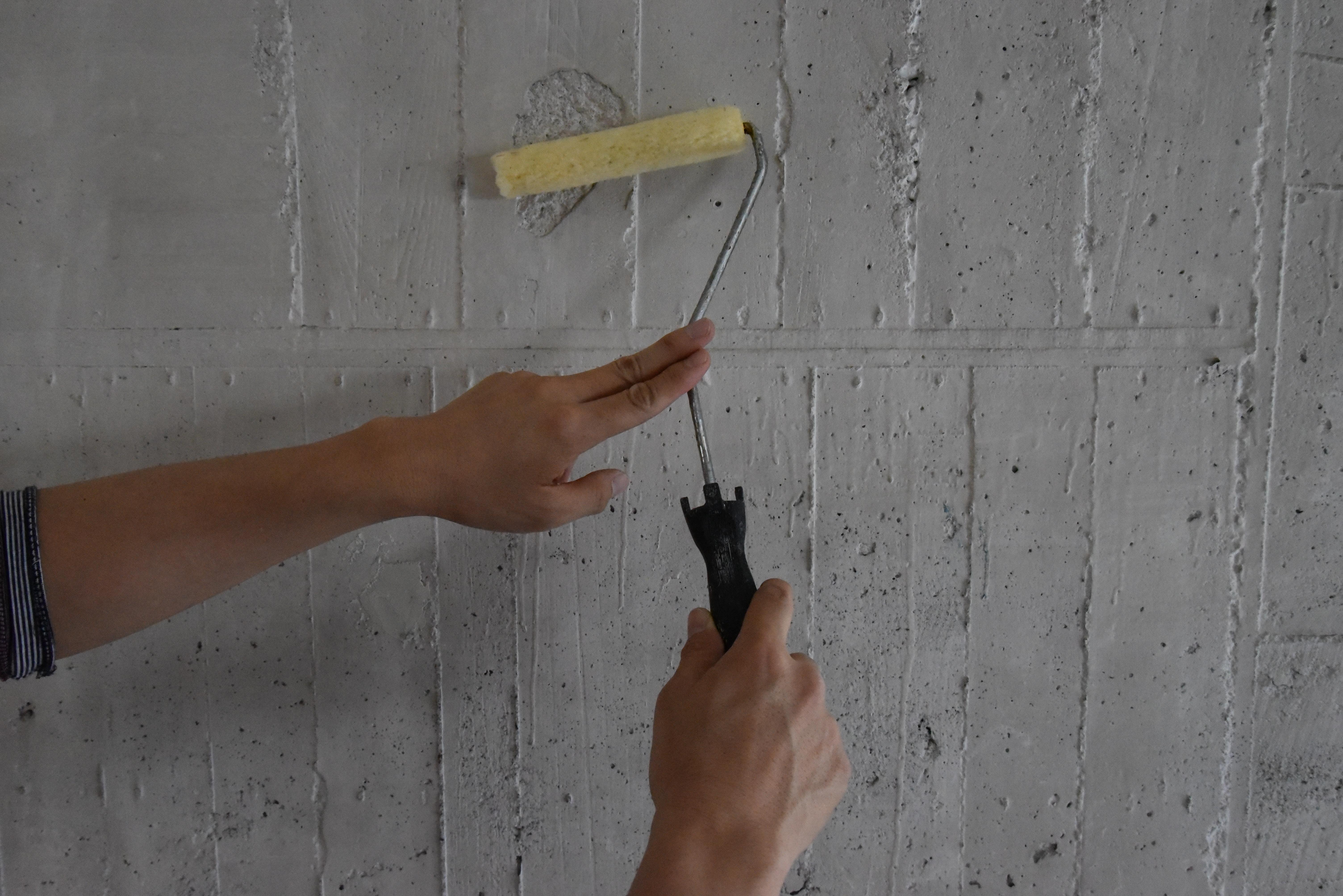 コンクリート、モルタル下地へのシーラー塗り方動画