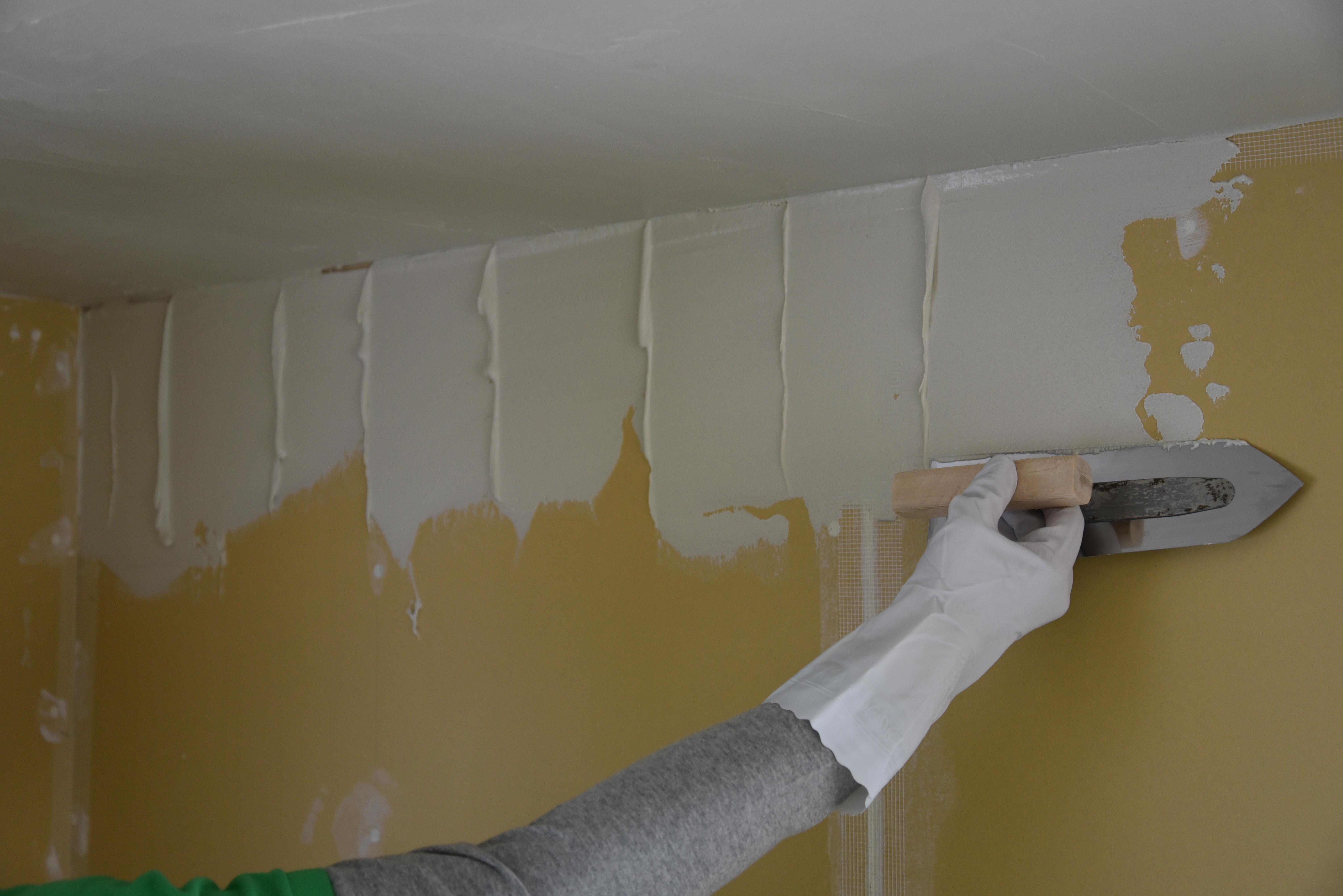 漆喰の塗り付け方!
