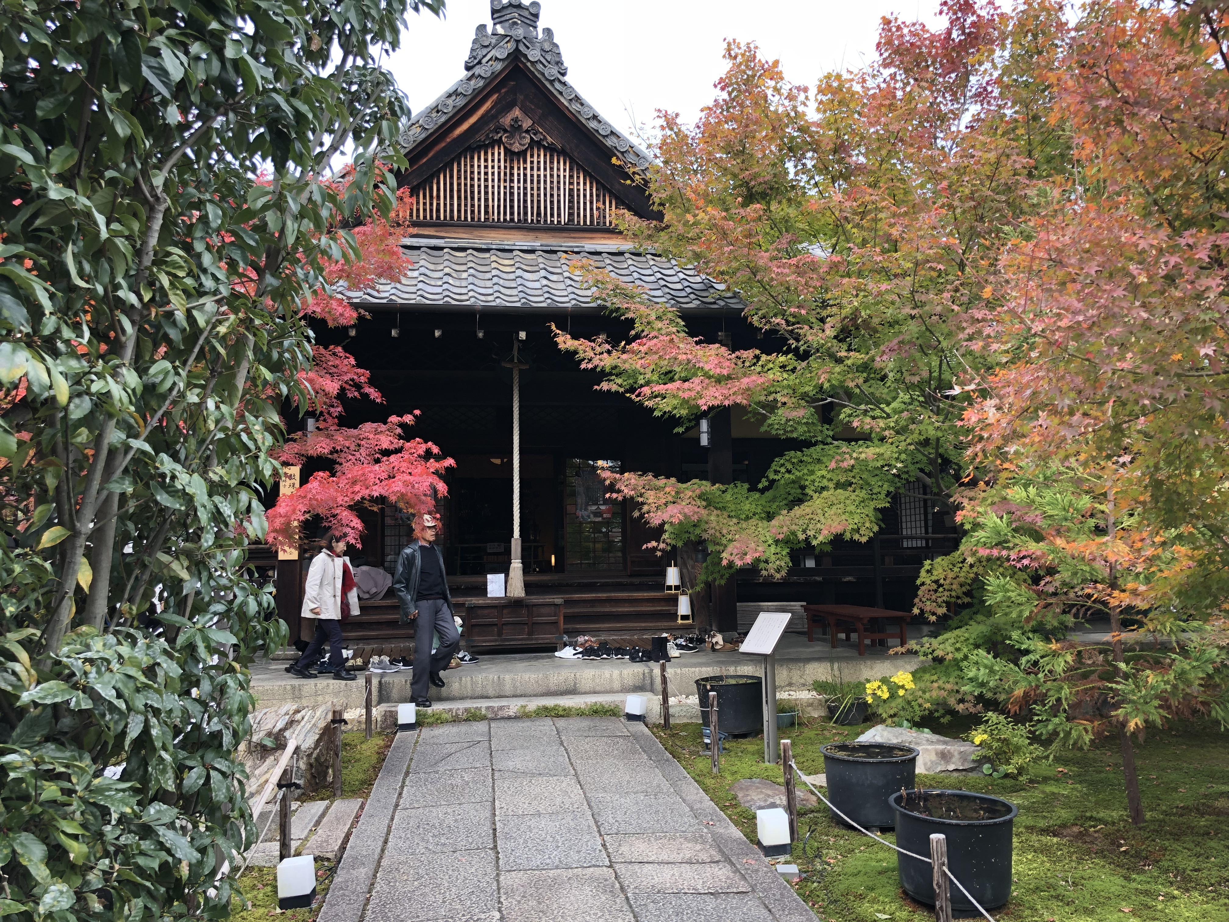 京都の毘沙門天で有名な勝林寺の漆喰壁