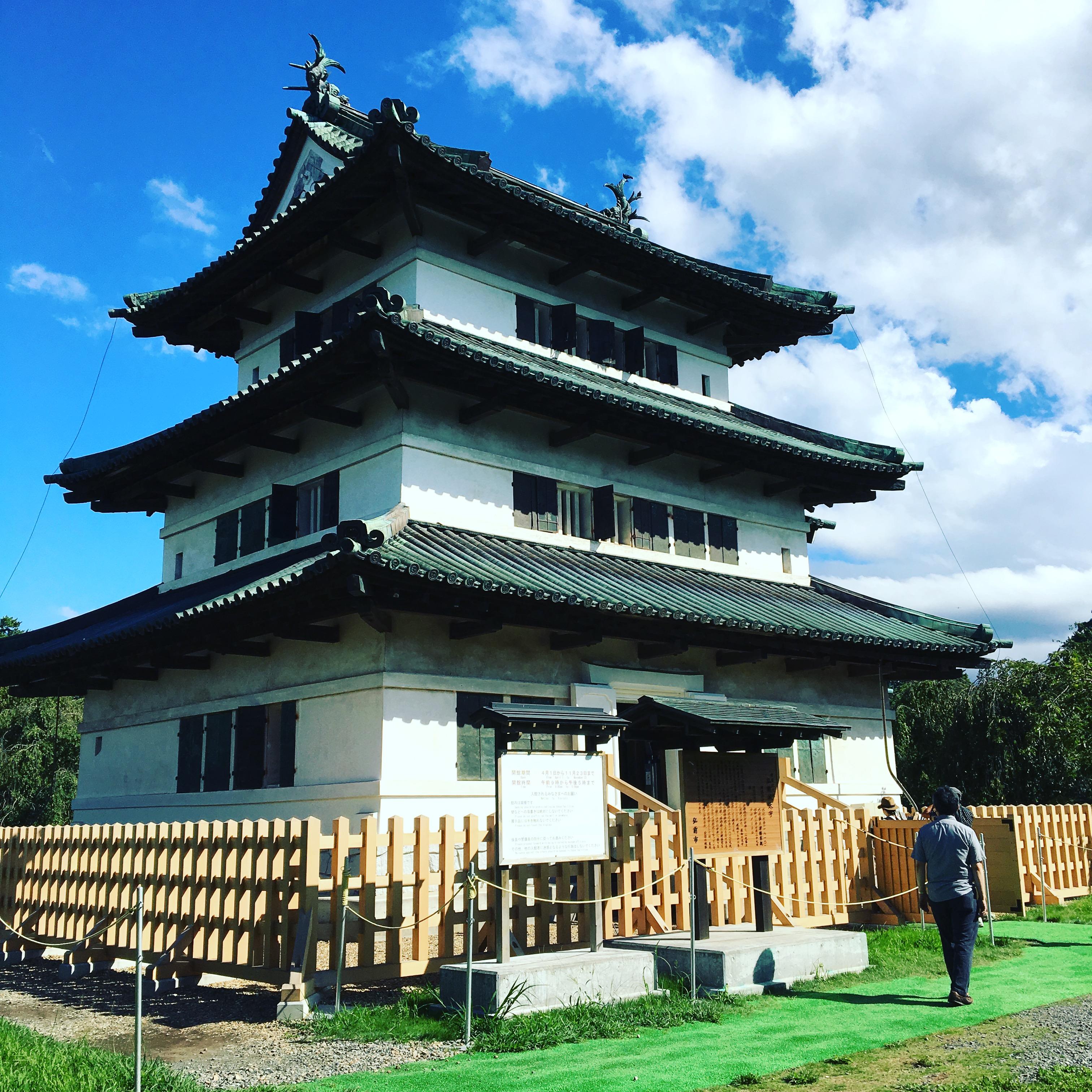 【重要文化財】弘前城の漆喰壁を見に青森まで行ってみた。