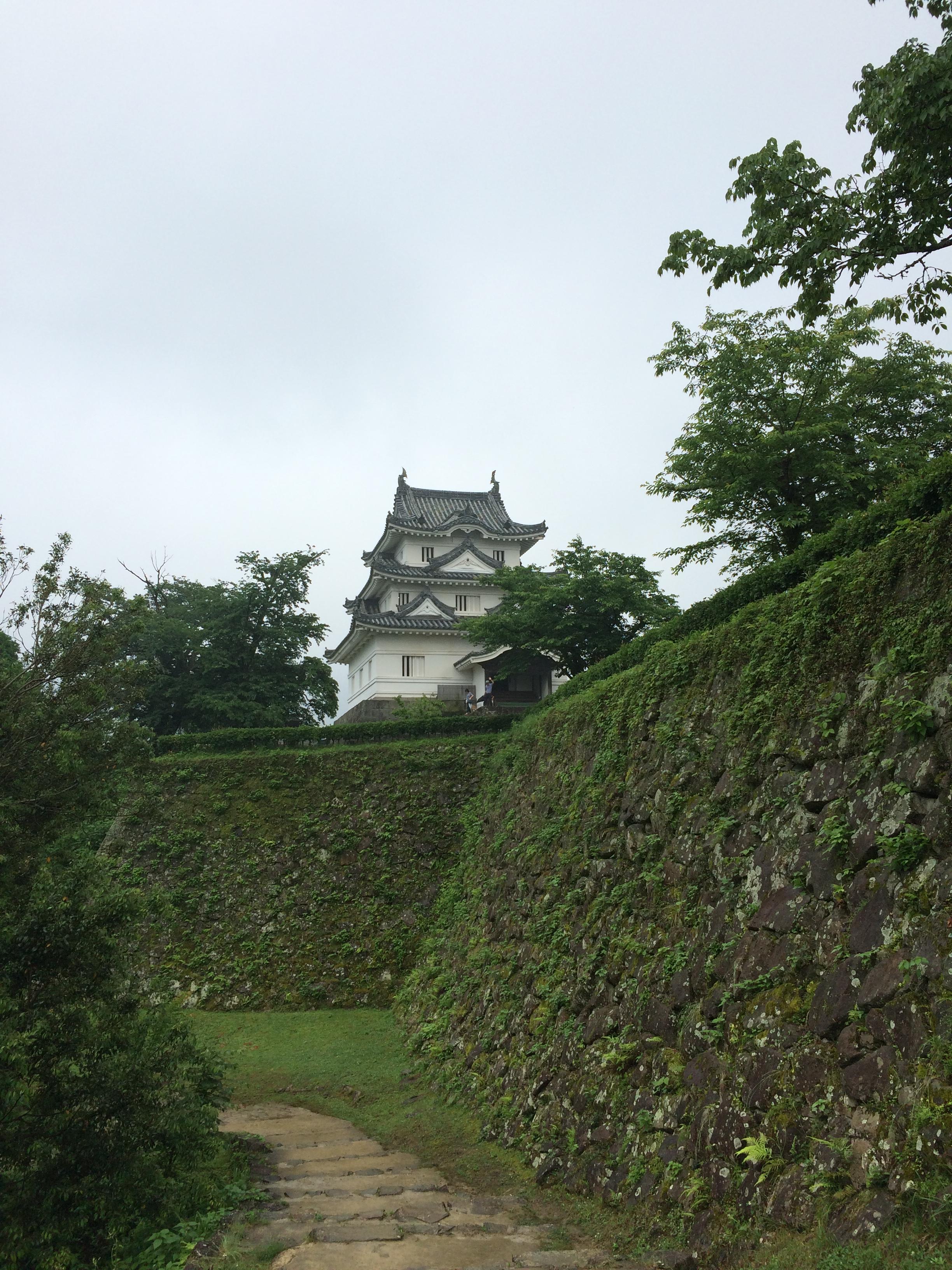 【現存天守】宇和島城(愛媛県宇和島市)の漆喰壁を見てきた。