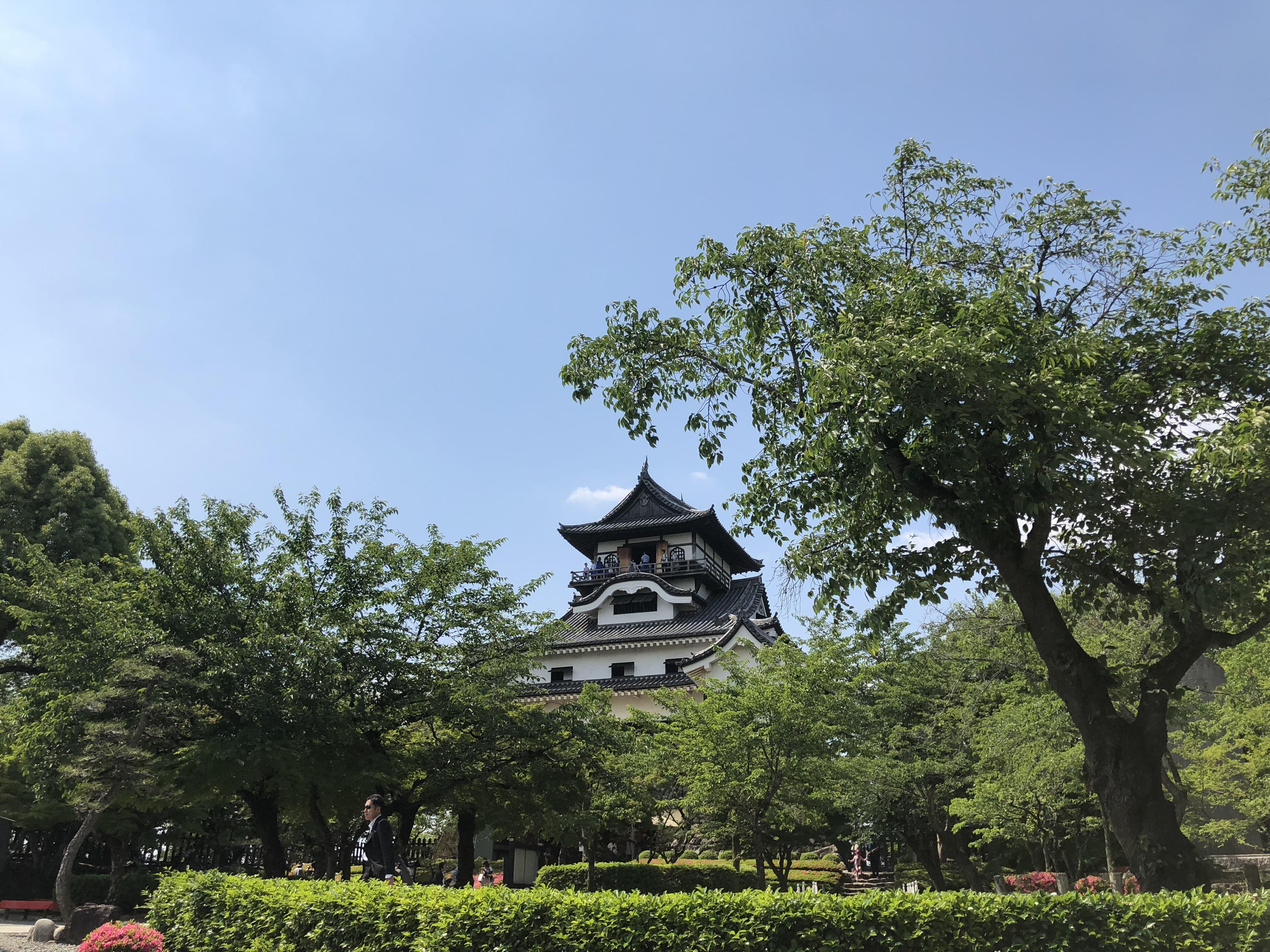 【国宝】犬山城の漆喰壁