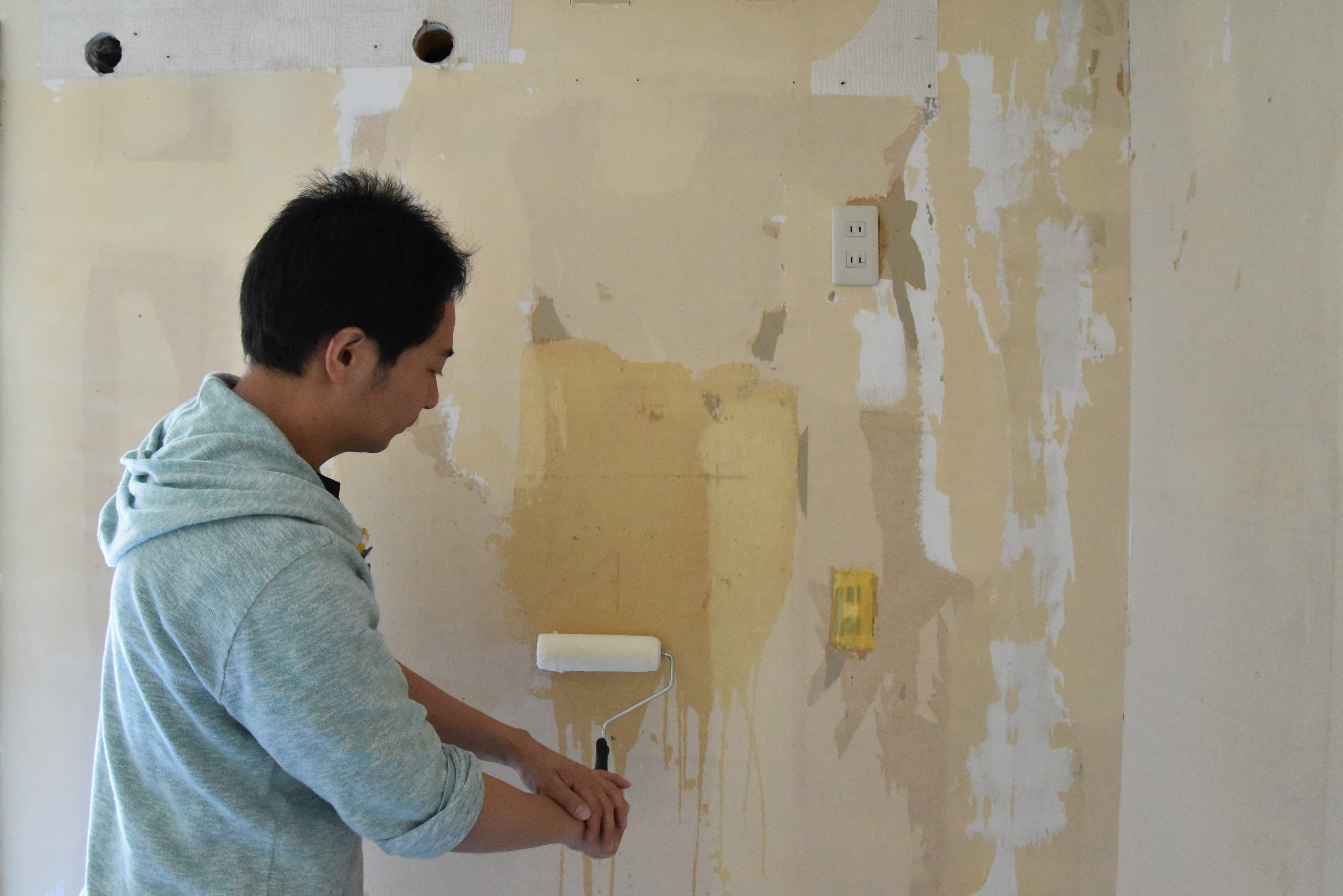 ビニールクロスに漆喰 珪藻土を塗る塗り方とは 漆喰 しっくい