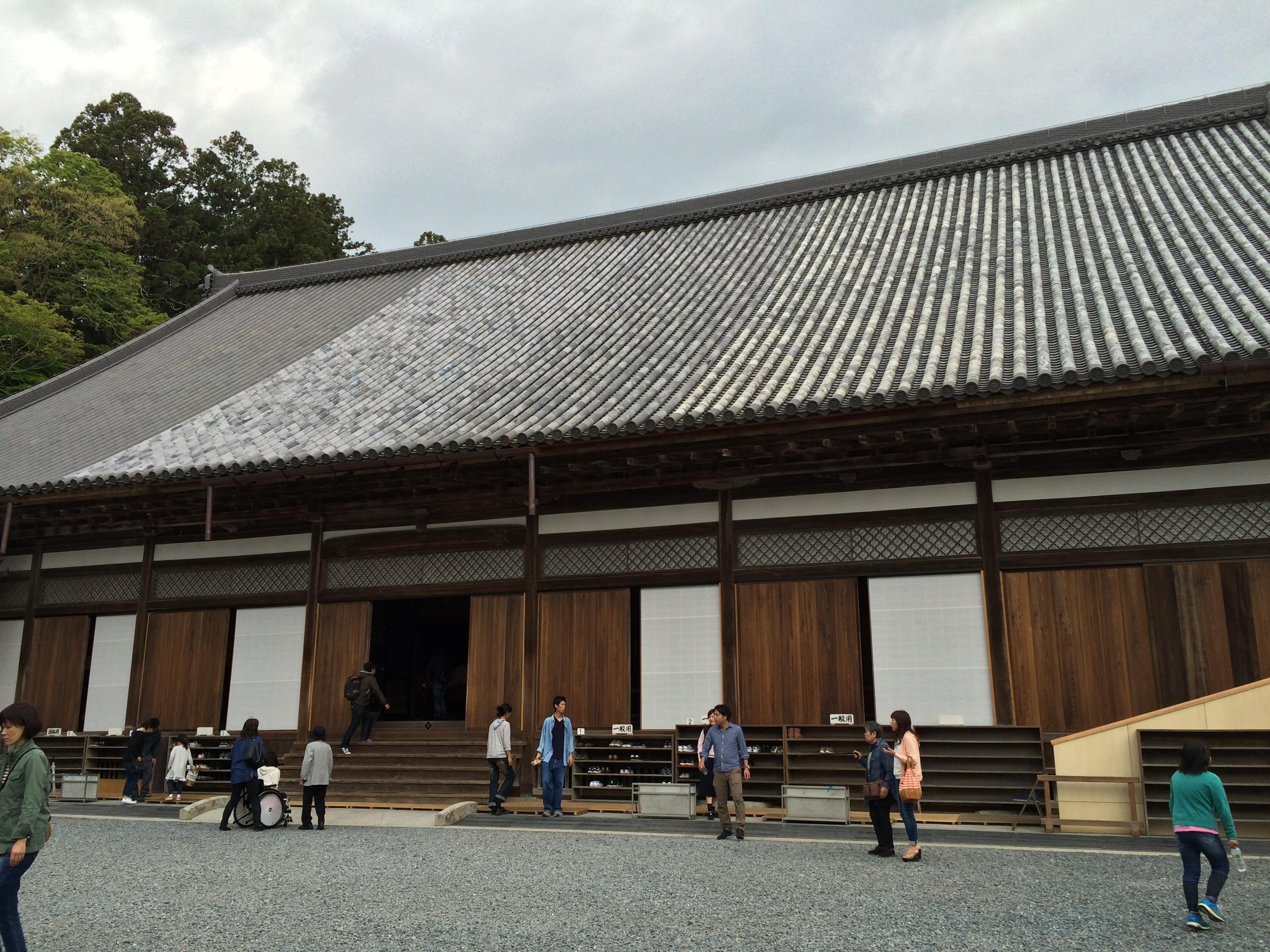 瑞巌寺(ずいがんじ)の漆喰壁を見に行ってきた