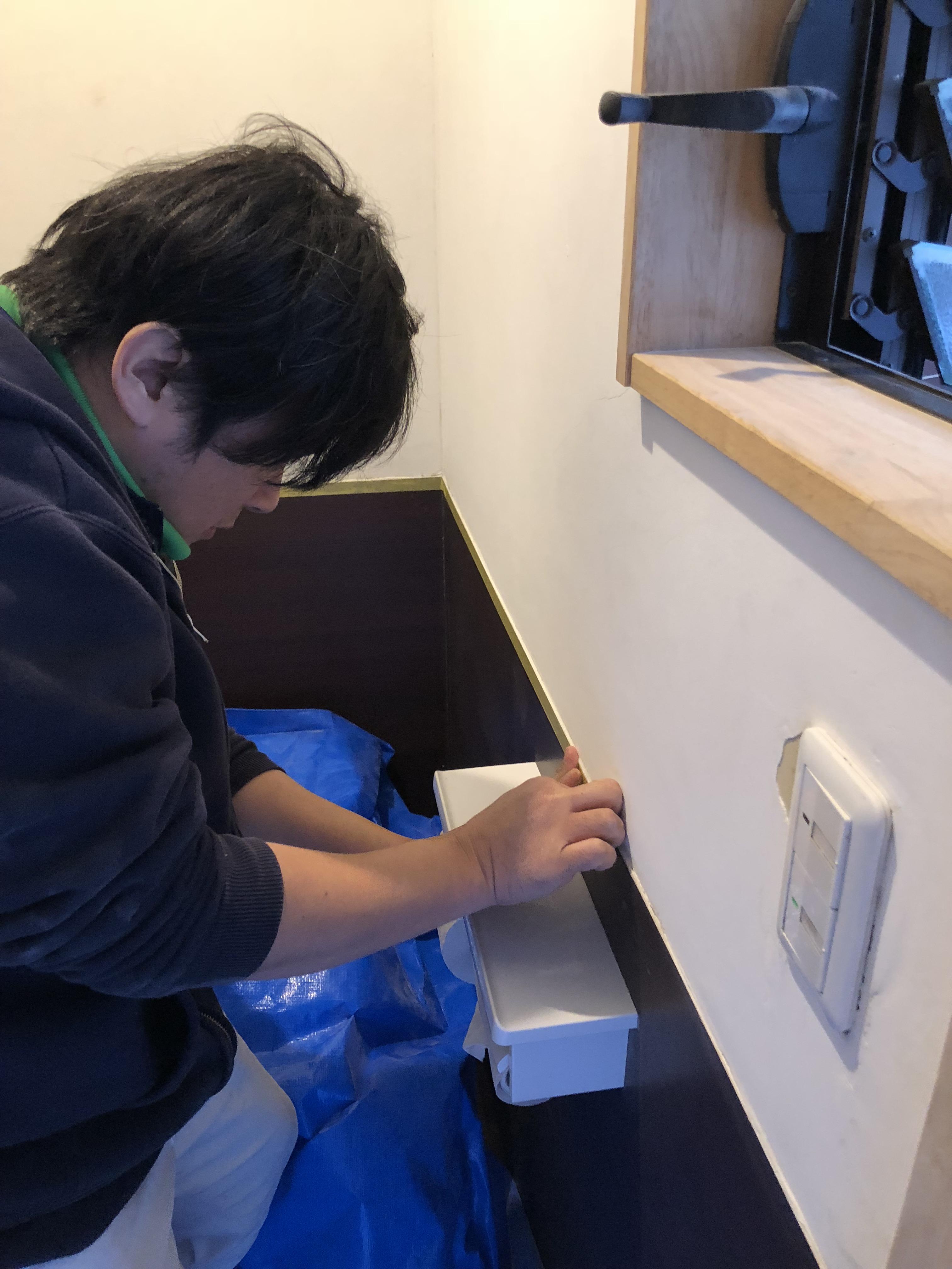 【漆喰の補修】平成30年7月豪雨で被害を受けた漆喰壁修復をしました