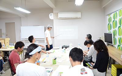 大阪教室:座学の様子